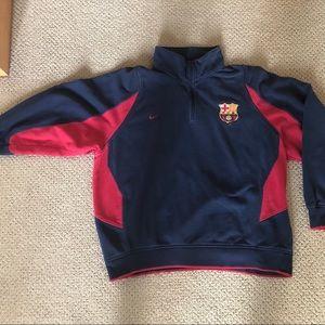 FC Barcelona & Nike quarter zip